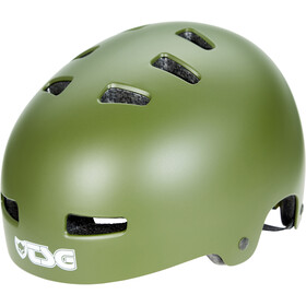 TSG Evolution Solid Color Helm satin olive